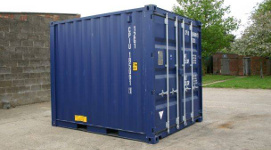 10 ft steel shipping container
