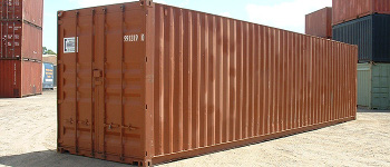 40 ft steel shipping container